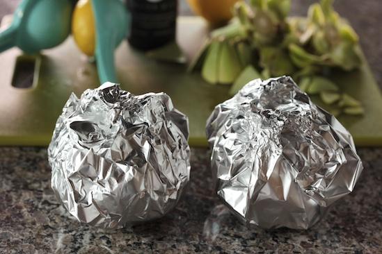 Pan Roasted Baby Artichokes Recipe — Dishmaps